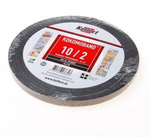 Compriband 10x10x2 – 12,5 mtr (voor kieren tot ca. 5 mm)