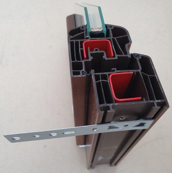 montage anker op vlak profiel