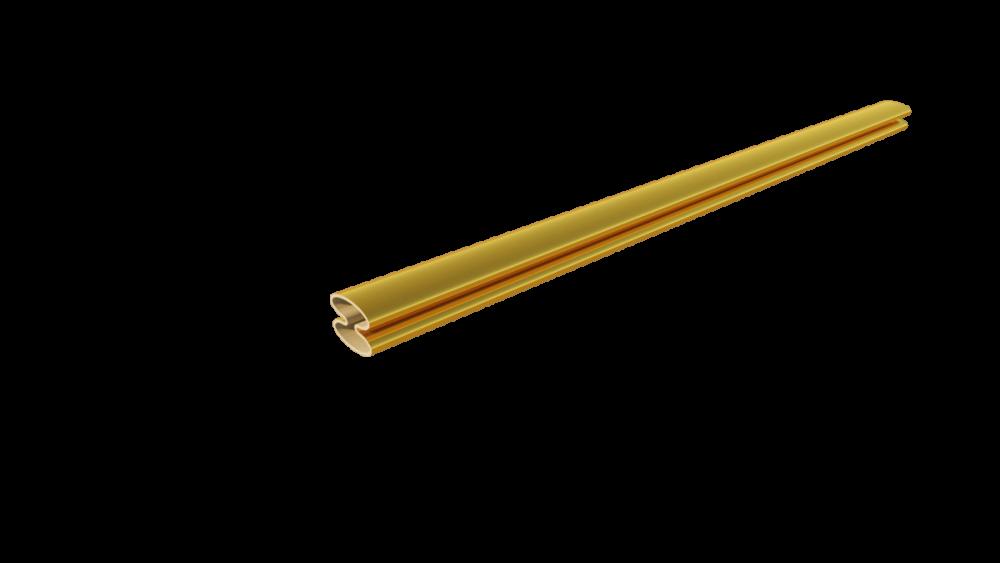 Roede goud 8 mm - 4,65 per vak excl. BTW