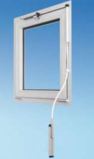 Valraam opener met flexibele stang voor montage op de muur