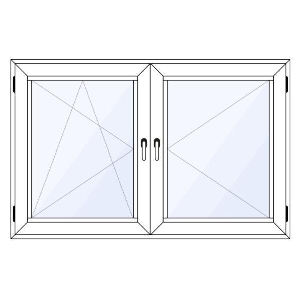 aluminium draaikiepraam met draairaam kopen