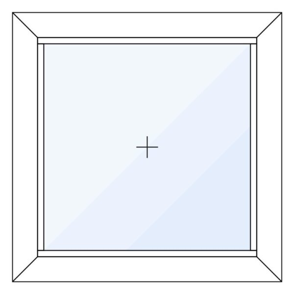 Aluminium vast glas kozijn