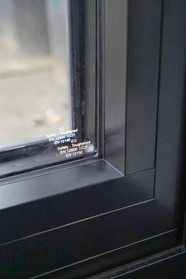 Keurmerk tripple glas aluminium vouwwand
