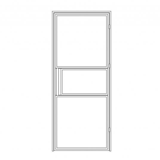Stalen binnendeur type B