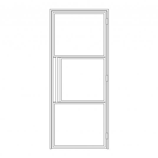 Stalen binnendeur type C