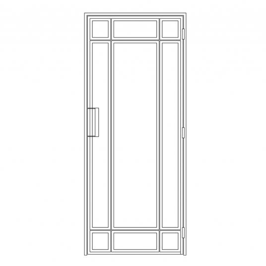 Stalen binnendeur type E