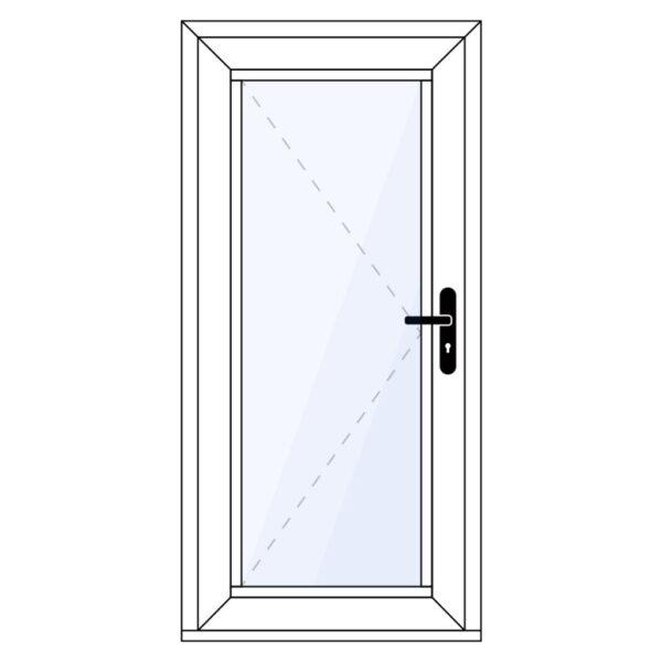aluminium achterdeur op maat kopen
